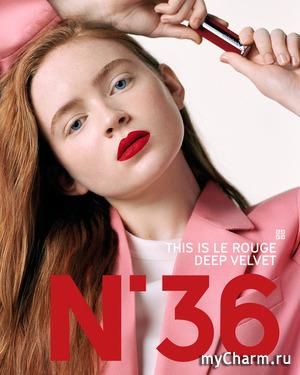 Звезда сериала «Очень странные дела» снялась в рекламе звездной помады Givenchy