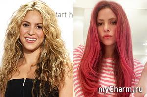 Шакира предстала перед подписчиками с ярко-розовыми волосами