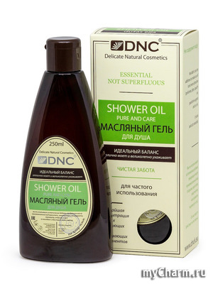 DNC / Гель для душа Shower oil pure and care