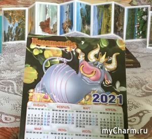 Чудесный подарок на Рождество от Оли Тарасовой