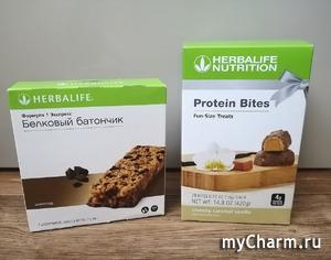 Вкусные и полезные батончики от Herbalife
