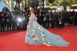 Шэрон Стоун пришла на Каннский кинофестиваль в оригинальном платье