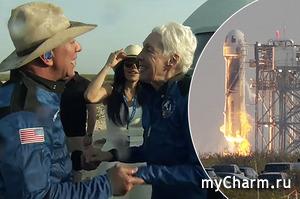 Джефф Безос впервые в жизни слетал в космос