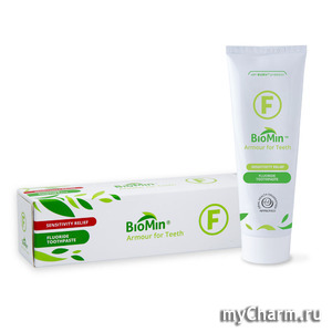 BioMin / Зубная паста F Armour Toothpaste