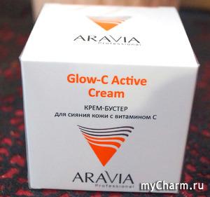 Крем-бустер Glow-C Active Creame от Aravia - любовь с первого мазка!