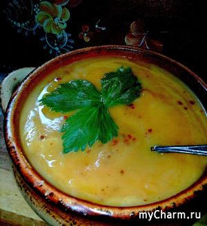 """""""Масляный орешек"""" суп- пюре для отличного настроения и хорошего пищеварения!"""