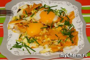 Для отличного настроения красивый и вкусный завтрак с тыквой