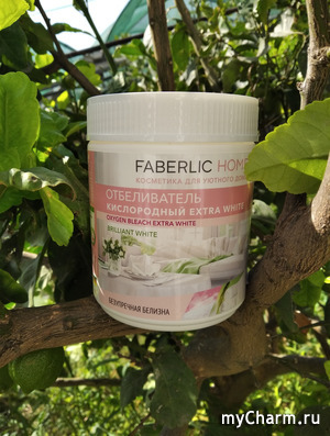 Отбеливатель для текстиля от Faberlic.
