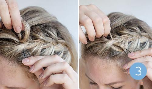 Как из банта сделать косу фото 340