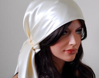 Шелковый платок для волос на ночь отзывы